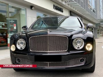 2010 Bentley Mulsanne S 6.75A (New 10-yr COE)