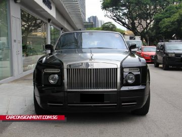2008 Rolls-Royce Phantom Drophead Convertible (New 10-yr COE)