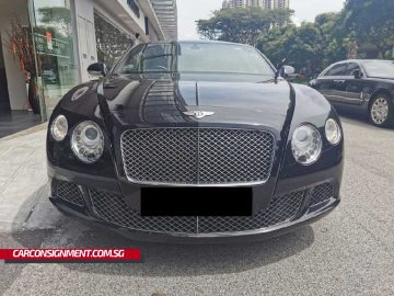 2011 Bentley Continental GT 6.0A (New 10-yr COE)