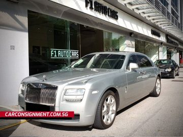 2012 Rolls-Royce Ghost EWB (White)