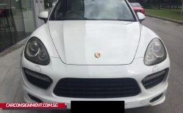 2012 Porsche Cayenne Turbo 4.8A Tip